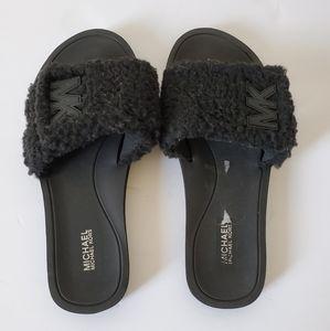 Michael Kors Open Toe Casual sandals Black, Size 8